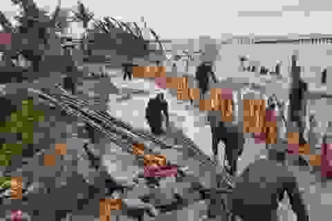 Kiên Giang ban bố tình trạng sạt lở đê biển nghiêm trọng