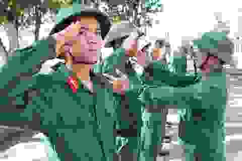 Từ 21/8: Học viên đào tạo sĩ quan dự bị được tham gia bảo hiểm y tế