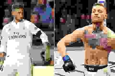 Trổ tài đá bóng, Conor McGregor được Ramos mời tới… Real Madrid