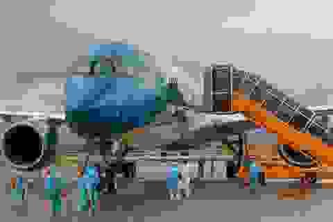 Sân bay Vân Đồn đón 278 công dân Việt Nam từ châu Âu về nước an toàn