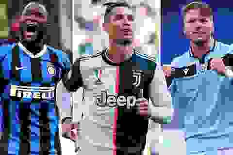 Đội hình tiêu biểu Serie A mùa giải 2019/20: Hàng công siêu khủng