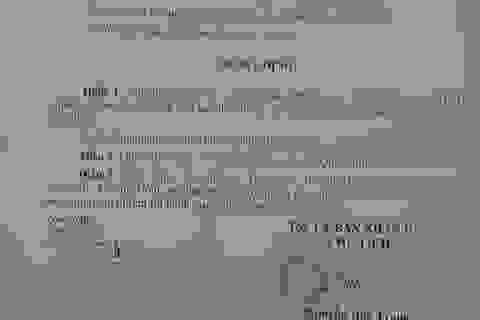 """Phó Chủ tịch phường bị """"tuýt còi"""" vì yêu cầu đóng cửa cơ sở kinh doanh"""