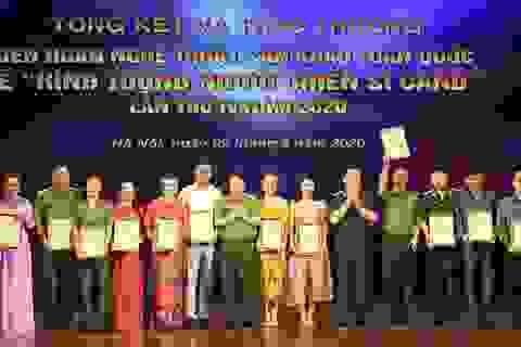59 nghệ sĩ đoạt Huy chương Vàng tại Liên hoan sân khấu về hình tượng CAND