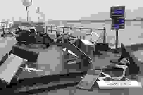 Mưa giông gây hư hỏng nhiều ngôi nhà ở Phú Quốc, 6 tàu cá bị chìm
