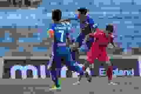 Quang Hải và các đồng đội bất ngờ bị CLB Quảng Nam cầm hoà