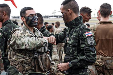 Hàng loạt binh sĩ mắc Covid-19, Thái Lan ngừng tập trận chung với Mỹ