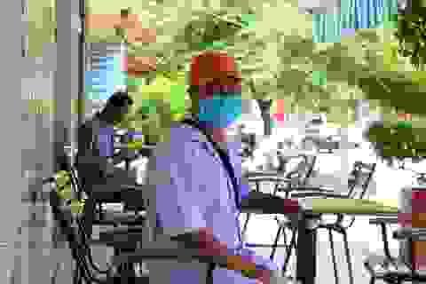 Thành phố Biên Hòa vắng vẻ ngày đầu giãn cách
