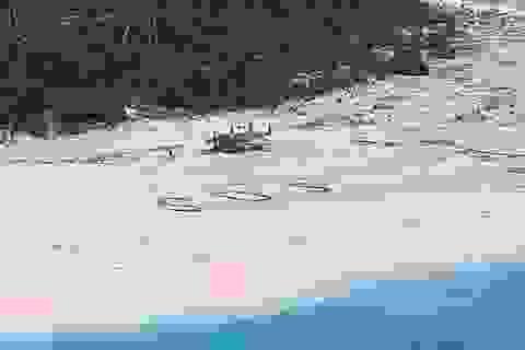 Được cứu sống khỏi đảo hoang nhờ dòng chữ viết trên cát