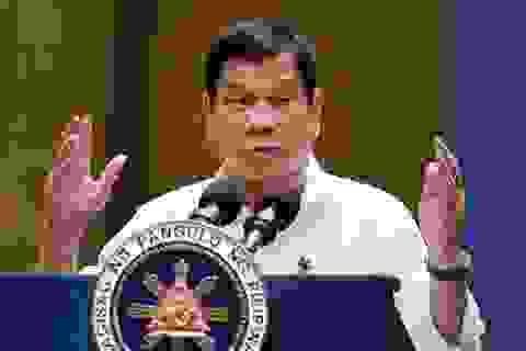 Tổng thống Philippines cấm hải quân diễn tập chung trên Biển Đông