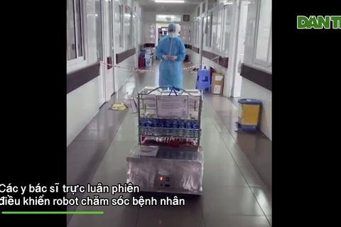 """Bác sĩ Đà Nẵng """"chơi game"""" phục vụ bệnh nhân thời Covid-19"""