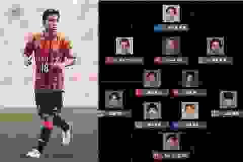 Chanathip sánh vai cùng Iniesta ở đội hình tiêu biểu tháng 7 giải Nhật Bản