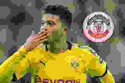 Bị Dortmund ép giá, Man Utd có thể từ bỏ thương vụ Sancho