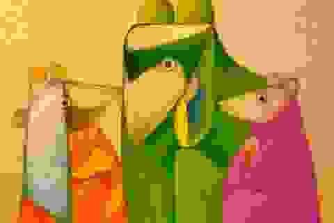 Triển lãm tranh của các hoạ sĩ hàng đầu nền mỹ thuật đương đại