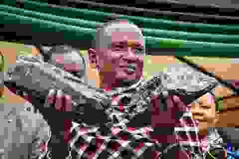 Thợ mỏ Tanzania hai lần đào được đá cực hiếm trị giá triệu đô