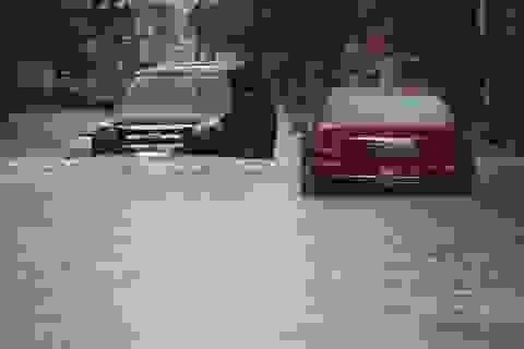Điện Biên Phủ đường phố ngập như sông