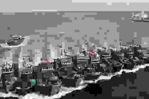 """Đội tàu cá Trung Quốc bị """"tố"""" phá hoại môi trường ở khu bảo tồn Ecuador"""