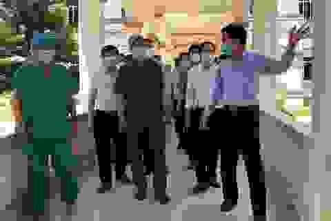 Quảng Ngãi: Thứ trưởng Y tế yêu cầu truy vết F1 tiếp xúc ca mắc Covid-19