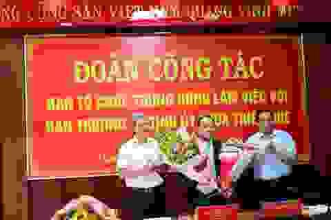 Đại tá Nguyễn Quốc Đoàn làm Phó Bí thư Tỉnh ủy Thừa Thiên - Huế