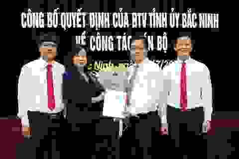 Điều Bí thư TP Bắc Ninh Nguyễn Nhân Chinh làm Phó Giám đốc Sở LĐ-TB&XH
