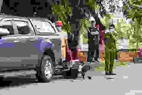 Xã Đội trưởng đi xe máy tông vào ô tô bên đường tử vong