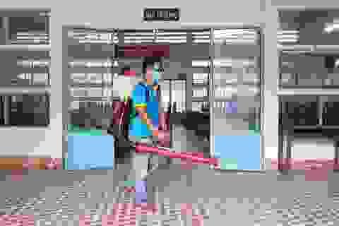 Khánh Hòa bắt đầu sát khuẩn trường học trước ngày thi tốt nghiệp THPT