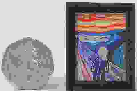 Siêu phẩm hội họa nằm gọn trong lòng bàn tay