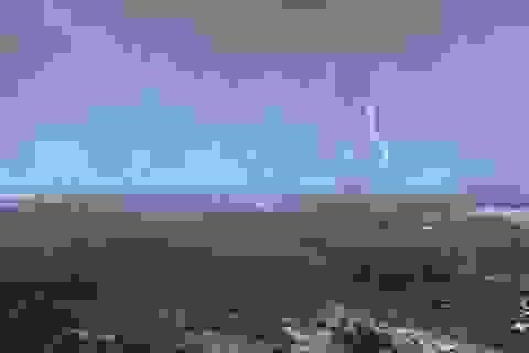 Xuất hiện vùng áp thấp trên Biển Đông, cảnh báo mưa lớn trên biển