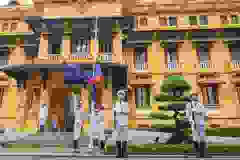 Trang trọng nghi lễ thượng cờ kỷ niệm 53 năm Ngày thành lập ASEAN