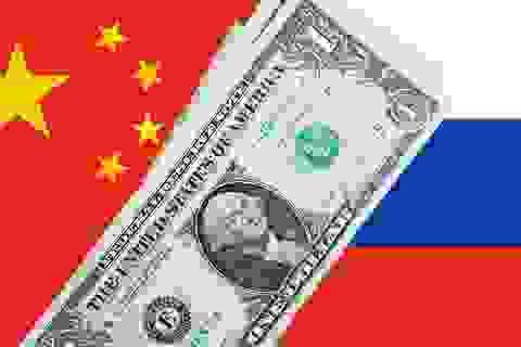 """Trung Quốc và Nga tiến tới liên minh tài chính """"hạ bệ"""" đồng USD"""
