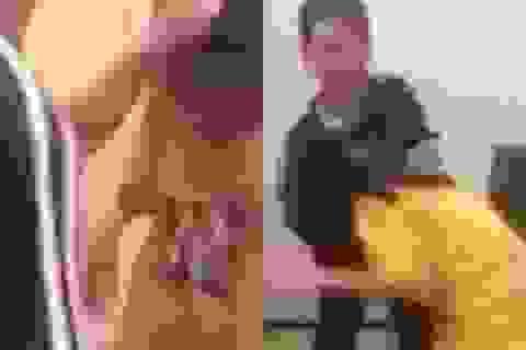 Một học sinh lớp 5 bị các nữ sinh cấp 2 đánh dằn mặt