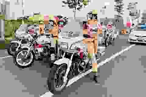 TPHCM: Ngày 25/8 ra mắt đội hình nữ cảnh sát giao thông dẫn đoàn