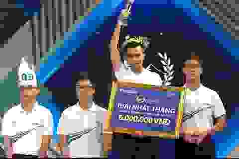 Nhờ câu hỏi cuối cùng, nam sinh Hà Nội chiến thắng cuộc thi tháng Olympia