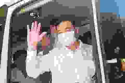 Đoàn y bác sĩ Thừa Thiên Huế ra quân chi viện Đà Nẵng chống Covid-19