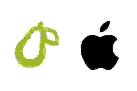 """Công ty khởi nghiệp bị Apple """"gây khó"""" vì sử dụng logo hình trái lê"""