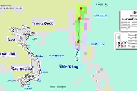 Hình thành bão số 3 trên Biển Đông