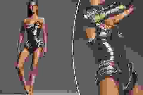 Celine Dion khoe thân hình thon gọn, săn chắc ở tuổi 52