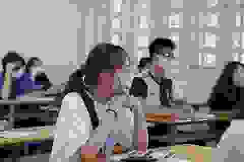 Đề thi các môn Khoa học Xã hội: Điểm trung bình 5- 8, sẽ ít điểm tối đa