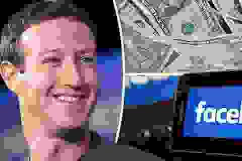 """Mark Zuckerberg """"bỏ túi"""" 5,3 tỷ USD trong một tuần, tài sản vượt 100 tỷ USD"""
