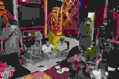 15 khách, quản lý và nhân viên quán karaoke dương tính với ma túy