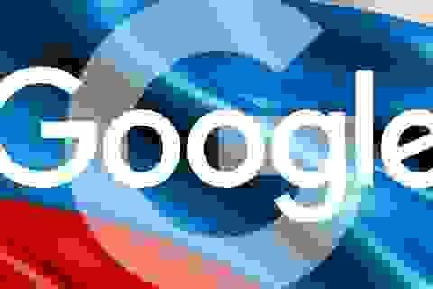 Google bị tòa án Nga xử phạt vì không chặn các trang web cấm