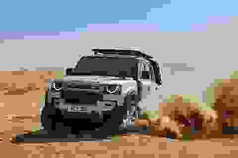Land Rover Defender thế hệ mới đã xuất hiện tại Việt Nam