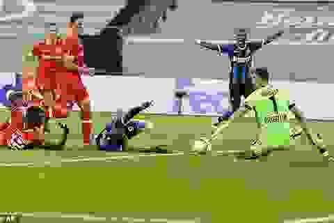 Lukaku không ngừng ghi bàn, Inter lọt vào bán kết Europa League