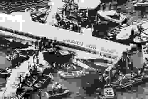 Máy bay rơi 35 năm trước bỗng xuất hiện trên bản đồ bay gây hoang mang
