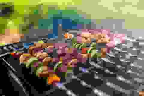 Cách giảm nguy cơ ung thư khi nướng thịt