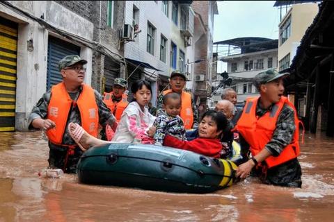 Người nghèo Trung Quốc gánh khó khăn chồng chất do thiên tai