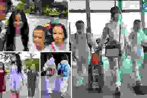 Hồng Nhung và các con đã về nhà sau khi hoàn thành 14 ngày cách ly