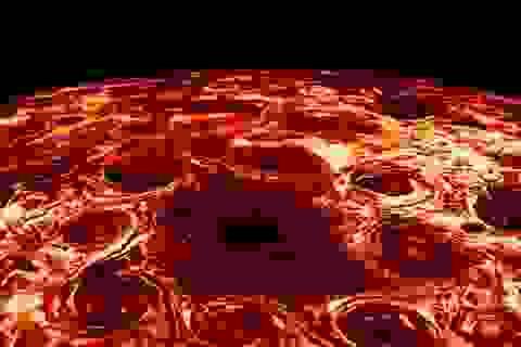 Chiêm ngưỡng sao Mộc trong bão giống như một chiếc bánh pizza khổng lồ