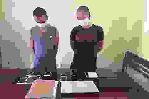Bắt 2 đối tượng đột nhập nhà dân trộm 9 vụ trong mùa dịch