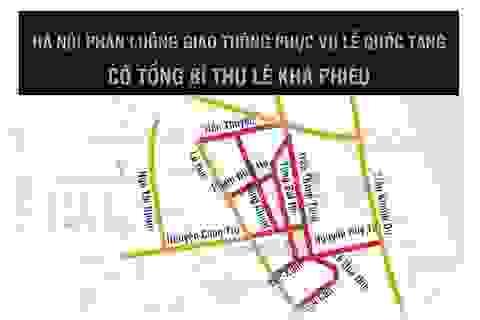 Hà Nội: Phương tiện di chuyển như thế nào trong 2 ngày Quốc tang?