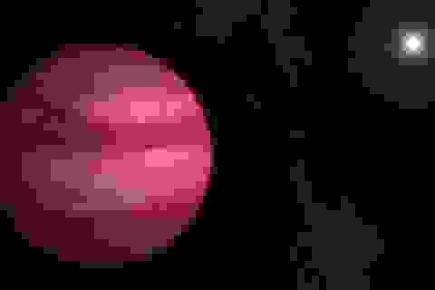 Phát hiện hành tinh có màu hồng kì lạ gần Trái đất